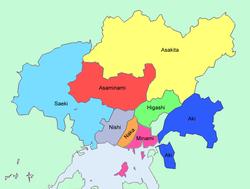 Hiroshima_wards