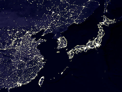 Earth_lights_japan